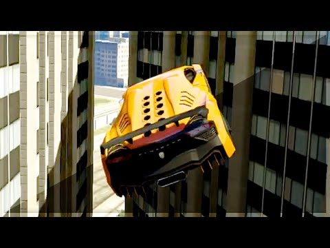 GTA 5 Funny Moments – Impossible Car Wallride – (GTA V Online Games Stunts)