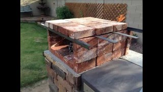 DIY Portable Brick Pizza Oven is an easy at home low cost Do-it-Yourself project. Take it Camping, tailgating in the parking lot before the big game or to the ...