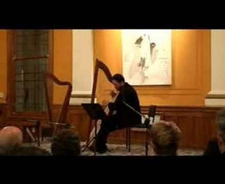 The Rising Lark - Trad Welsh played on Triple-harp (видео)