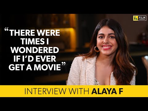 Alaya F Interview with Anupama Chopra | Jawaani Jaaneman | Film Companion