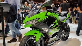 9. 2018 Kawasaki Ninja 400 preview, first impressions & walkaround | EICMA 2017