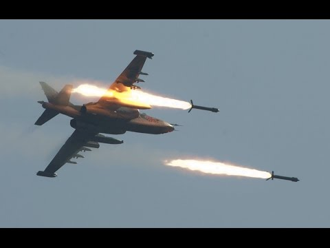 A great Go Pro video of Su-25 Military...