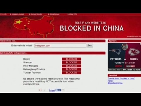 media - Coverage of Hong Kong protest--blacked out in the mainland of China, CNN's David McKenzie reports.