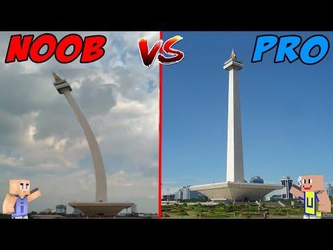 MINECRAFT: NOOB VS PRO - MONAS Kocak