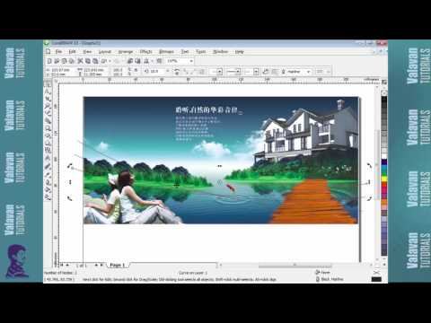 Phamphlet Design In Corel Draw X3 Tutorials