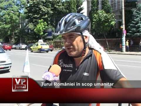 Turul României în scop umanitar