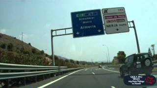 Motril Spain  City new picture : QQLX 0054 SPAIN trip from Malaga to Motril - Street view car 2012
