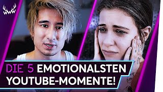 Video Die 5 EMOTIONALSTEN YouTube-Momente! | TOP 5 MP3, 3GP, MP4, WEBM, AVI, FLV Mei 2018