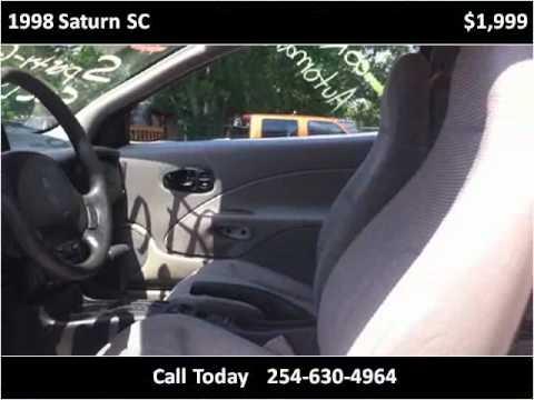 1998 Saturn SC Used Cars Killeen TX