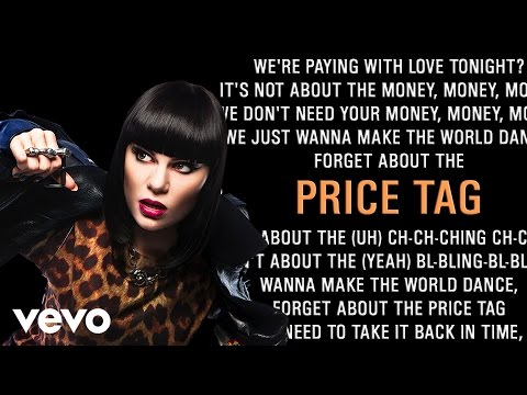 Jessie J - Price Tag (Karaoke) + Lyrics + Backing Vocals + B.o.B Part | Vevo
