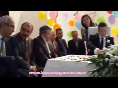 Cüneyt Sina ve Merve Koca'nın düğün merasimi