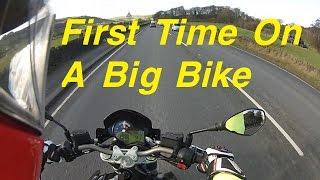7. First Time on a Big Bike - Aprilia Shiver 750