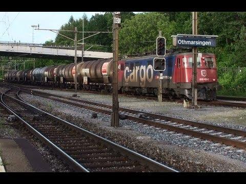 Ae6/6 Ae610 der SBB CFF FFS mit Pfiff Horn in Othmarsingen