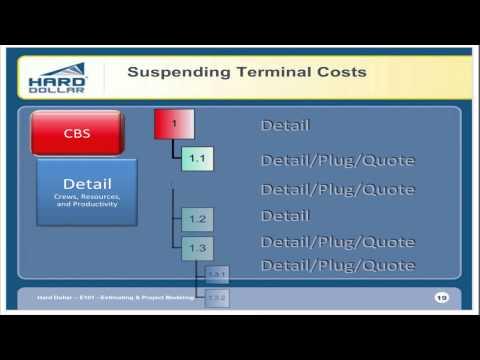 Hard Dollar Webinar: E101 Estimating and Project Modeling