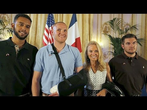 Γαλλία: Θαυμασμός για τους ηρωικούς επιβάτες που απέτρεψαν τρομοκρατικό χτύπημα σε τρένο