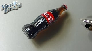 3D Art, Drawing Coca-Cola bottle - YouTube