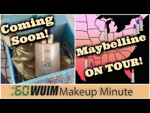 Make up - Tarte Rainforest RADIANCE DROPS! + Maybelline on TOUR This Summer!  Makeup Minute