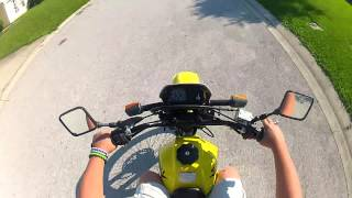 8. riding my suzuki dr200 gopro hd hero2