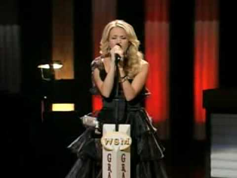 "Carrie Underwood ""I Told You So"" (live performance)"