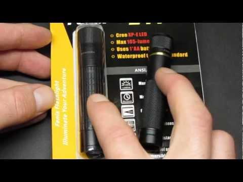 Відеоогляд ліхтаря Fenix LD15 Cree XP-G R4
