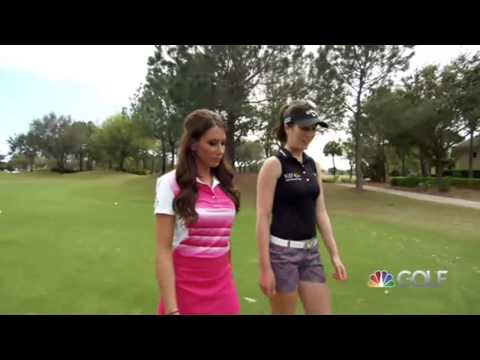 Playing Lessons, Golf Channel, Episode 3 Sandra and Holly, First Hole