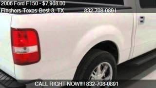 2006 Ford F150 XLT Truck - for sale in houston, TX 77037