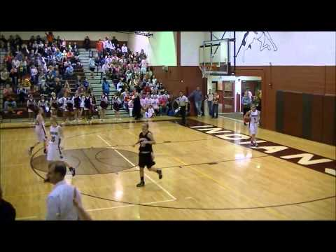 Full Court One Hopper Basketball Shot