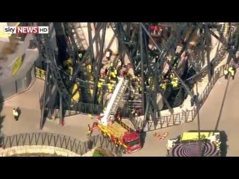 Alton Towers Smiler Crash Sky News Report.