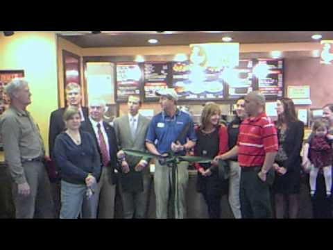 Zaxby's Ribbon Cutting
