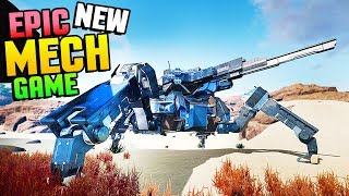 Pantropy - NEW MECH SURVIVAL GAME! MECH ENCOUNTER & RESEARCHING LEGENDARY PARTS! (Pantropy Gameplay)