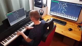 Download Lagu Undertale - Asgore Bergentrückung ( midi synthesia piano solo ) Mp3