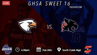 GHSA Sweet 16: Alexander vs. South Cobb