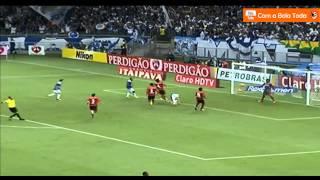 Everton Ribeiro foi eleito o ''Gol da Rodada CBT'', o meia celeste comenta o golaço feito contra o Flamengo no primeiro jogo das oitavas da Copa do Brasil 2013.