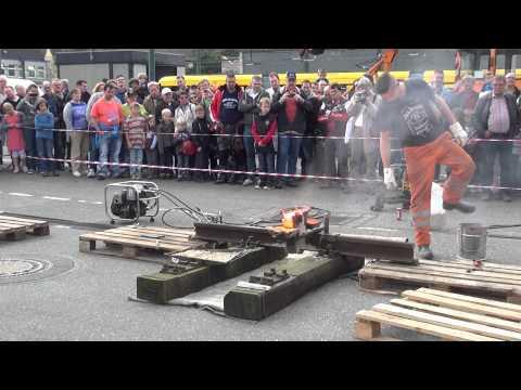 Gleise schweißen (HD) (видео)