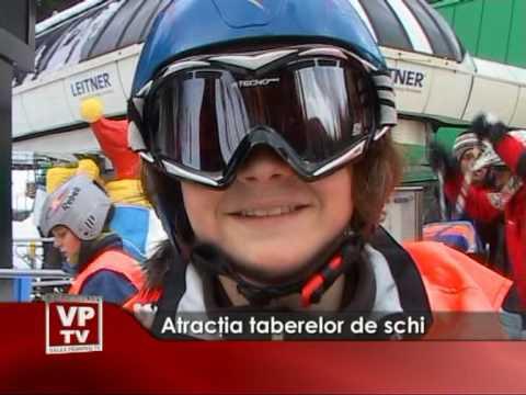 Atracţia taberelor de schi