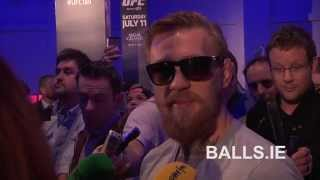 Video UFC's Conor McGregor Speaking In Irish. The Notorious Speaking His Native Language MP3, 3GP, MP4, WEBM, AVI, FLV Desember 2018