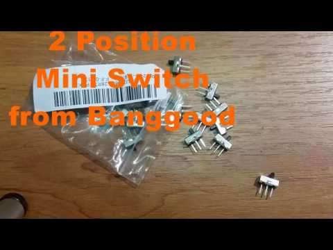 Banggood Vertical Mini Switch