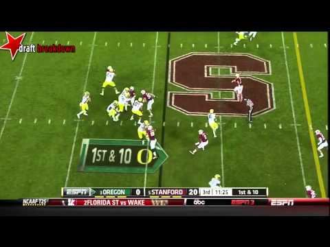 Shayne Skov vs Oregon 2013 video.