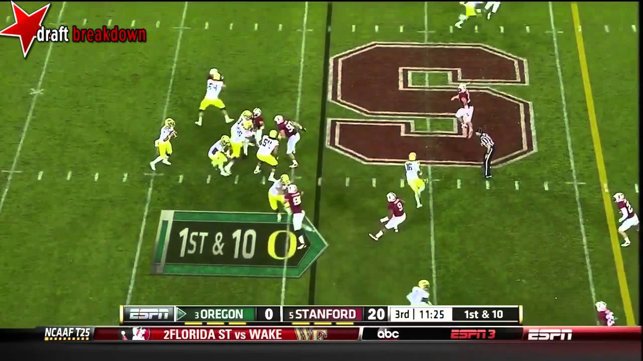 Shayne Skov vs Oregon (2013)