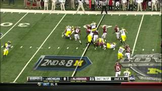 Dee Milliner vs Michigan (2012)