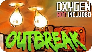 Oxygen Not Included - Ep 4 OUTBREAK UPDATE - HAPPY SHINY SHINE BUGS