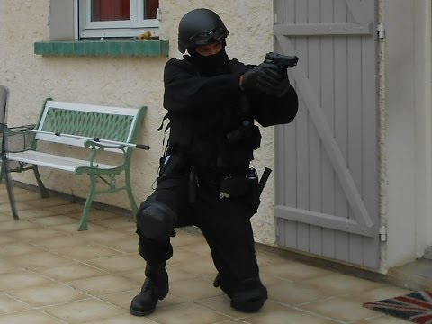 mon uniforme GIGN / SWAT Custom