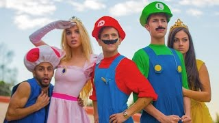 Watch the funny & crazy world with Super Mario, Luigi, Princess Peach, Toad, Daisy as they encounter Bowser and Koopa.