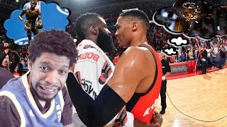 WESTBROOK vs HARDEN!!! BATTLE FOR MVP! THUNDER vs ROCKETS HIGHLIGHTS REACTION