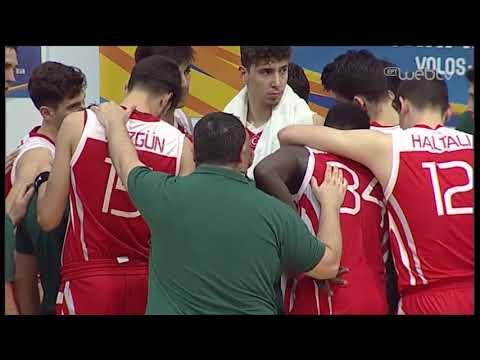 ΙΣΠΑΝΙΑ – ΤΟΥΡΚΙΑ Eurobasket U18 (Τελικός) | 04/08/2019 | ΕΡΤ
