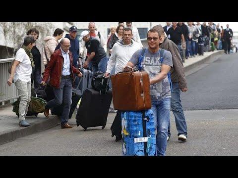 Γαλλία – Γερμανία: «Οδύσσεια» για τους επιβάτες