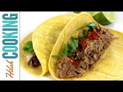 Mexican Recipe: Mexican Carnitas Pork Tacos