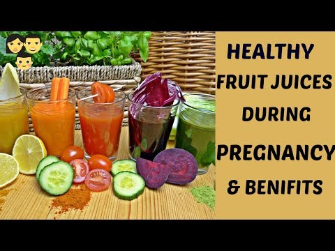 Healthy Fruit Juice During Pregnancy | Best Fruits Juice During Pregnancy | Healthy Drinks