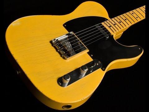 SOLD • Fender Custom Shop 1951 Nocaster  •  SN: R10191