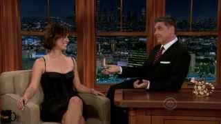 Berenice Marlohe - Flirty interview with Craig Ferguson HD